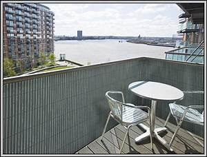Balkon Sichtschutz Grau Pvc Balkon House Und Dekor
