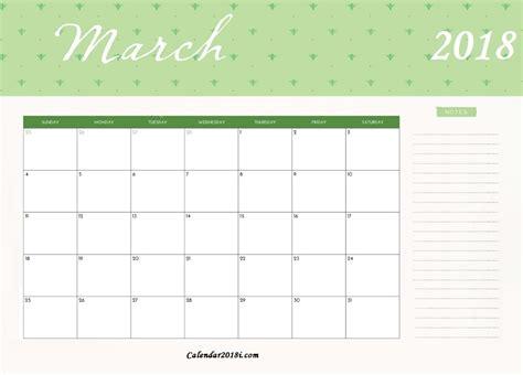 calendar template march 2018 2018 monthly calendar template calendar 2018