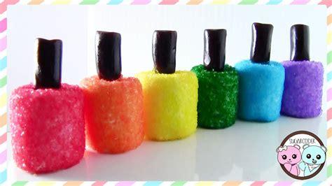 Nail Polish Marshmallows