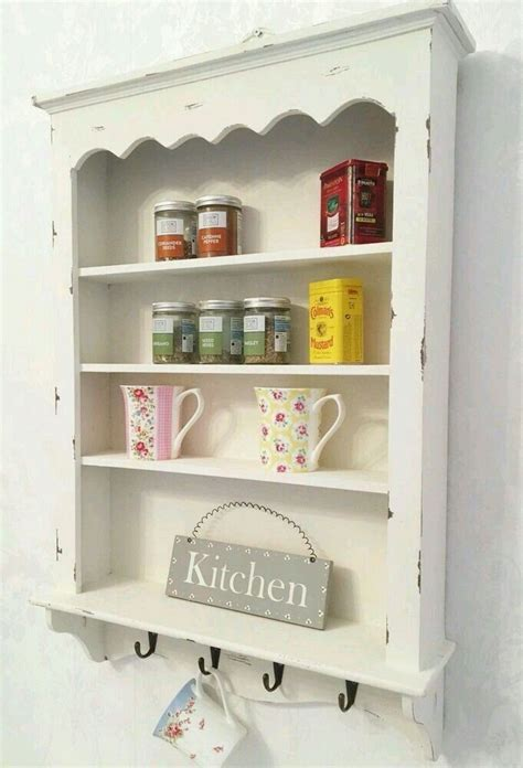 pin  iman mansour  floating shelves shabby chic wall unit shabby chic kitchen shelves