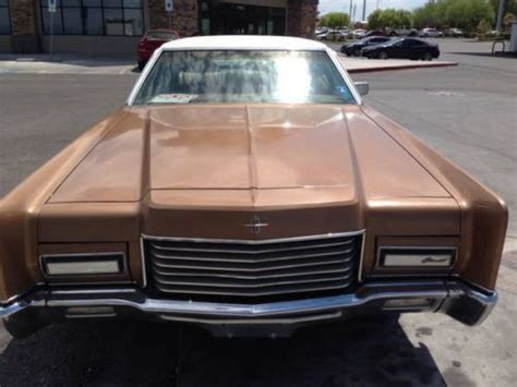sell   custom lincoln continental convertible