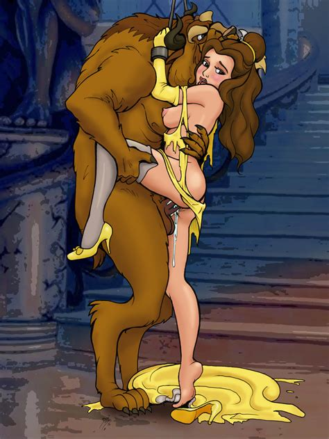 Belle And Beast After Dinner Party By Docredfield
