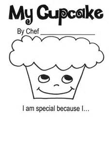 Cupcake Self-Esteem Worksheets