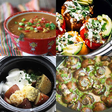 crock pot vegetarian recipes prepping for crochet hair hairstyle gallery