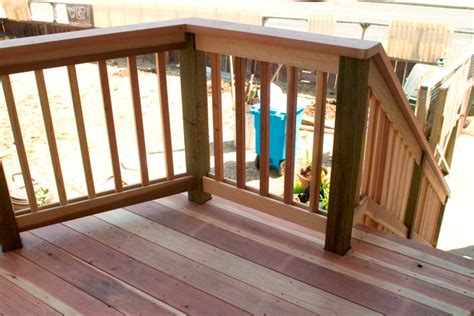 decks railings stairs built  fencing