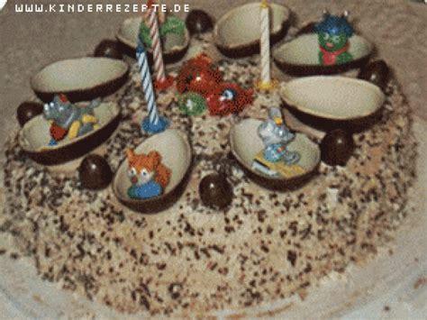 rezept ueberraschungseier torte kinderrezeptede