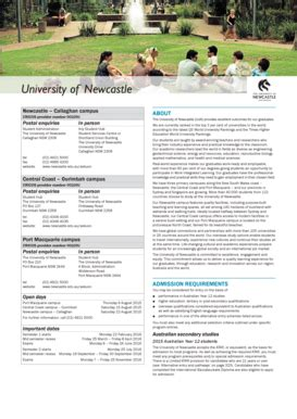 fillable  newcastle callaghan campus fax email print pdffiller