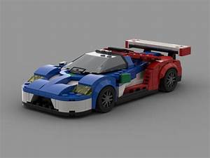 Finally finished a WIP that's been sitting for over a month!!! Here is my 2016 Ford GT MOC. This ...