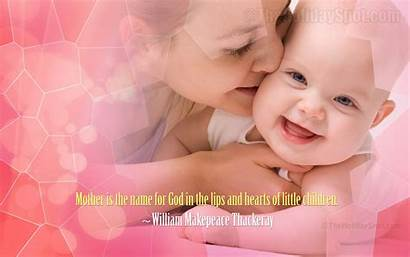 Mother Wallpapers Desktop Mothers Wall Smiling Paper