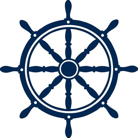 Boat Steering Wheel Blue by Logos Wheels And Boats On