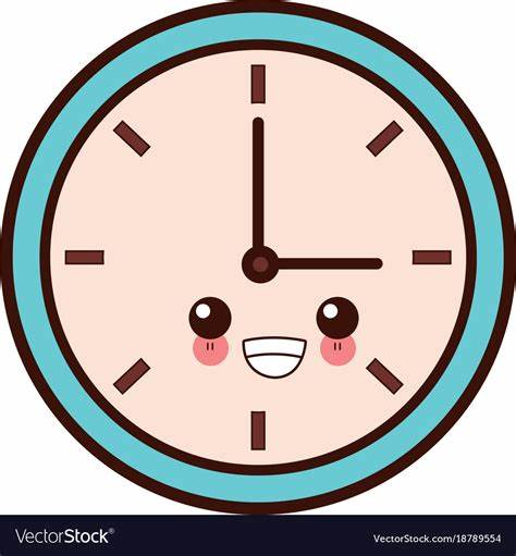 Find & download free graphic resources for cartoon clock. Wall clock isolated cute kawaii cartoon Royalty Free Vector