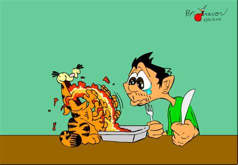 Thanksgiving With Garfield By Rovertarthead On Deviantart