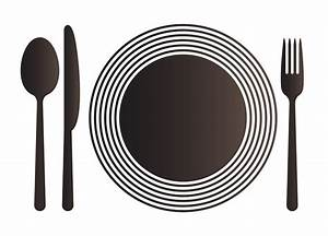 Plate And Fork Clipart (28+)
