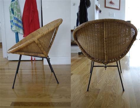 pieces of bargain 1960 s wicker chair