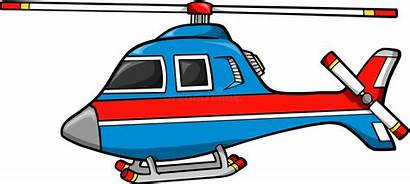 Helicopter Clipart Rescue Helicoptero Vector Illustration Illustrations