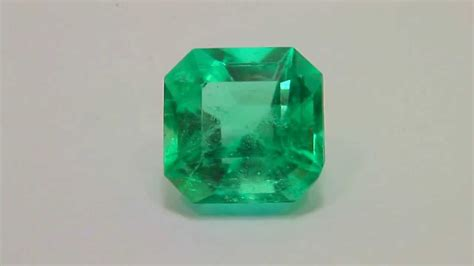 batu permata emerald zamrud colombia 2 94cts youtube
