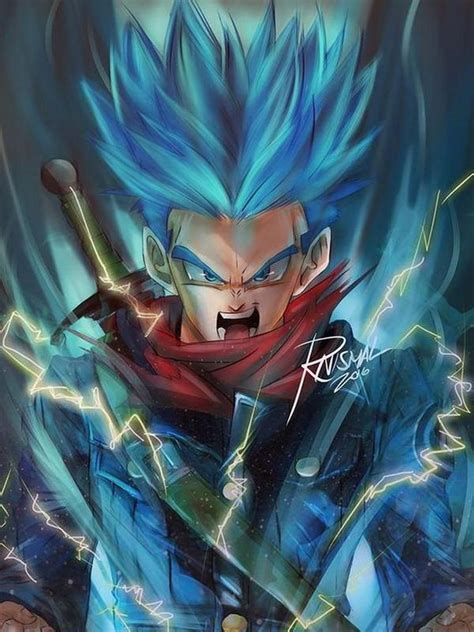 future trunks dbz wallpaper  android apk