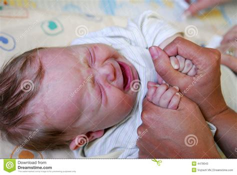 Crying Baby Stock Photos Image 4478043