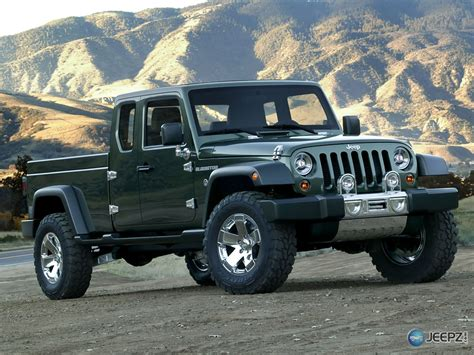 jeep pickup truck coming