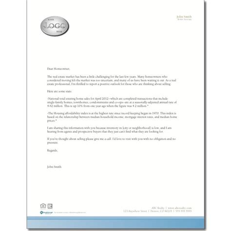 inventory prospecting letter