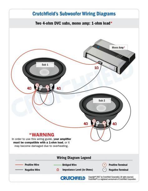 4 Ohm Dvc Sub Wiring To Mono by Help With 2 4ohm Dvc Subs To Mono Car Audio Forumz The