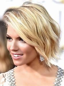 Carré Mi Long Plongeant : coupe de cheveux femme coiffure femme courte carr ~ Dallasstarsshop.com Idées de Décoration