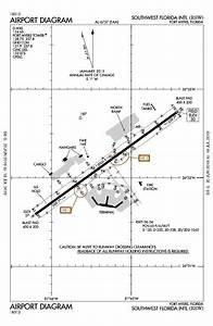 Southwest Florida Intl Airport Map  U0026 Diagram  Fort Myers