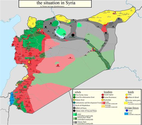 Isis Karte Aktuell