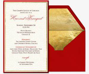Professional Event and fice Party line Invitations