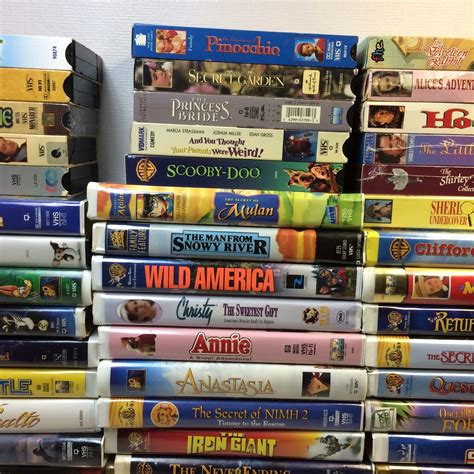 Huge Lot Of Disney Movies Vhs Picclick Bing Images