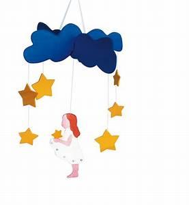Mobile Lit Bébé Fille : mobile pour lit b b petite fille aux toiles ~ Teatrodelosmanantiales.com Idées de Décoration