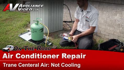 central air conditioner repair not cooling how to scale in refrigerant charge check