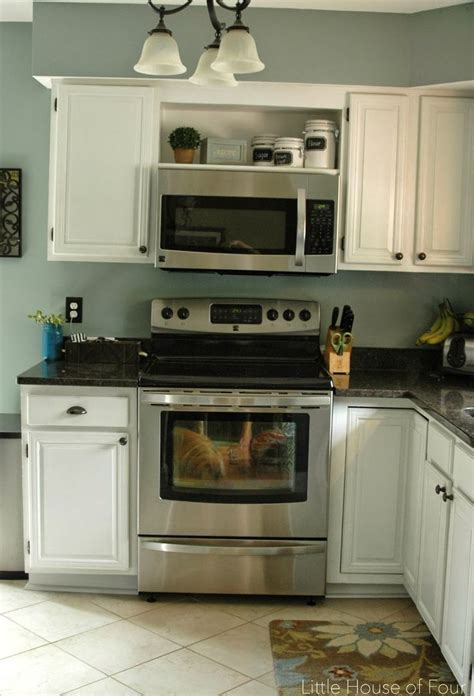 home  microwave  kitchen kitchen design small