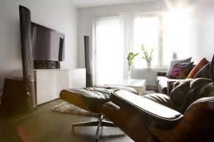 Simple House With Bedrooms Placement by Living Room Tv Setups