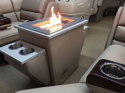 Cool Pontoon Boat Accessories by Pontoon Pits For Those Cool Nights Pontoon Forum