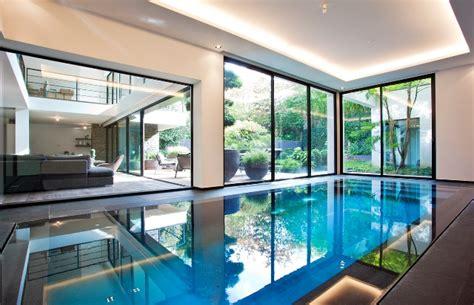maison a vendre maur des fosses parc de maur maison d architecte 6 chambres piscine interieure ventes immobili 232 res