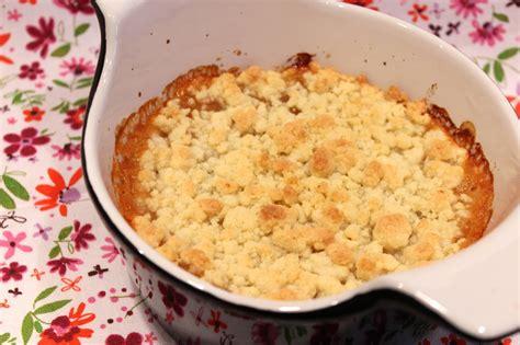 crumble 224 la compote de pommes pour ceux qui aiment cuisiner