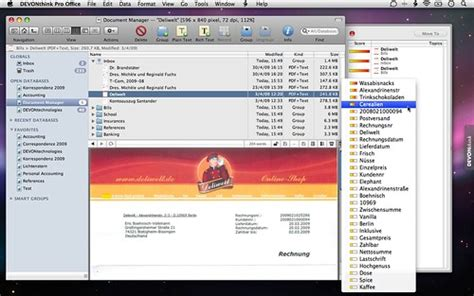 devonthink pro office how does devonthink pro office work with scansnap for mac