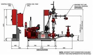 Schematic Diagram Fire Pump System