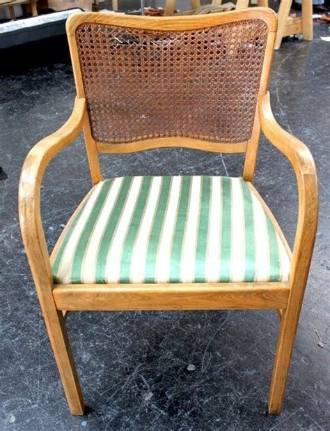 Diy Chair Caning by Reupholstering A Back Chair Furniture