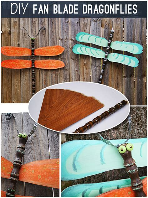 repurpose fan blades  dragonflies