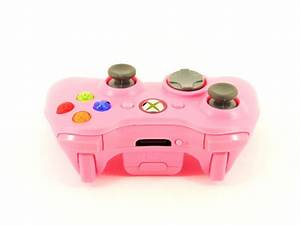 Xbox 360 Baby Pink 70  Mode Rapid Fire Controller For Call