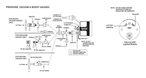 Auto Wiring Diagram Pressure by How To Install Auto Meter Phantom Ii Pressure