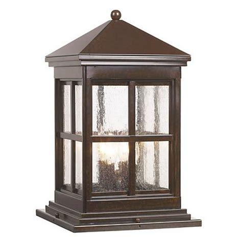 berkeley collection 18 3 4 quot high outdoor pier mount light