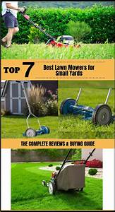 7 Best Lawn Mowers For Small Yards 2020 Reviews  U0026 Buying