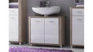 badezimmer gewinnen waschbecken unterschrank vital sonoma eiche und weiß