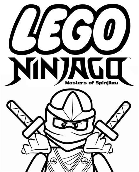 foto de Kolorowanka z serii Lego Ninjago do pobrania lub wydruku