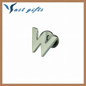 Alphabet letter badge pins small metal letters for crafts for Small metal letters for crafts