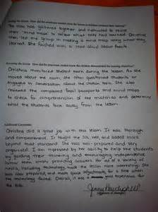 Cooperating Teacher Thank You Letter