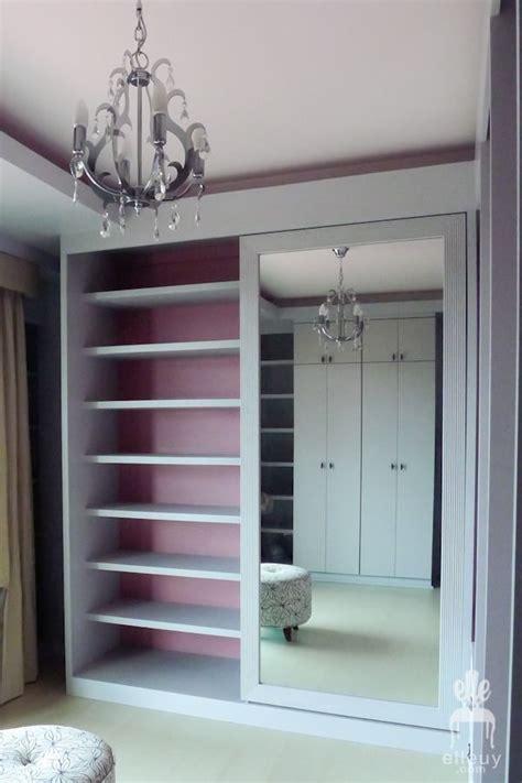 chic walk in closet pink closet gray closet purses on